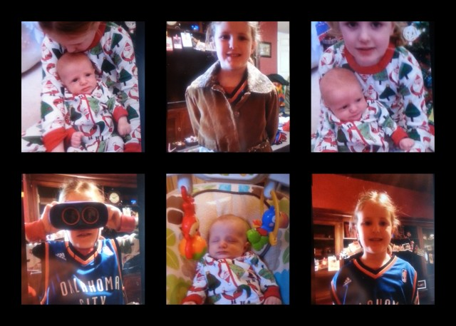 Christmas Childress Collage