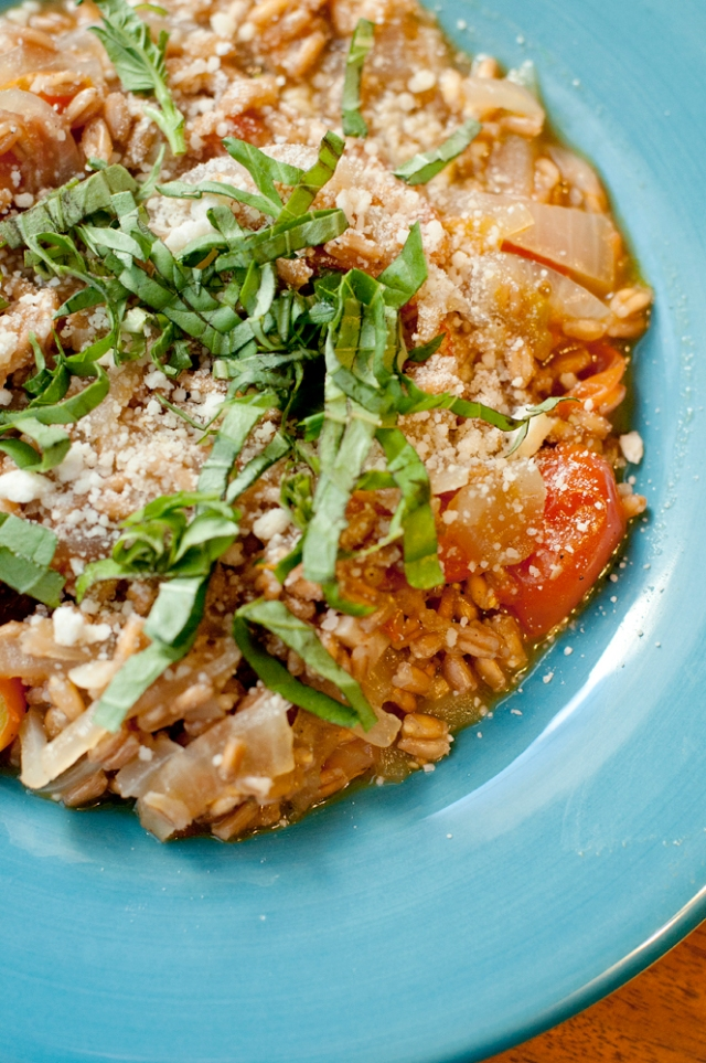 Farro with Tomatoes 2