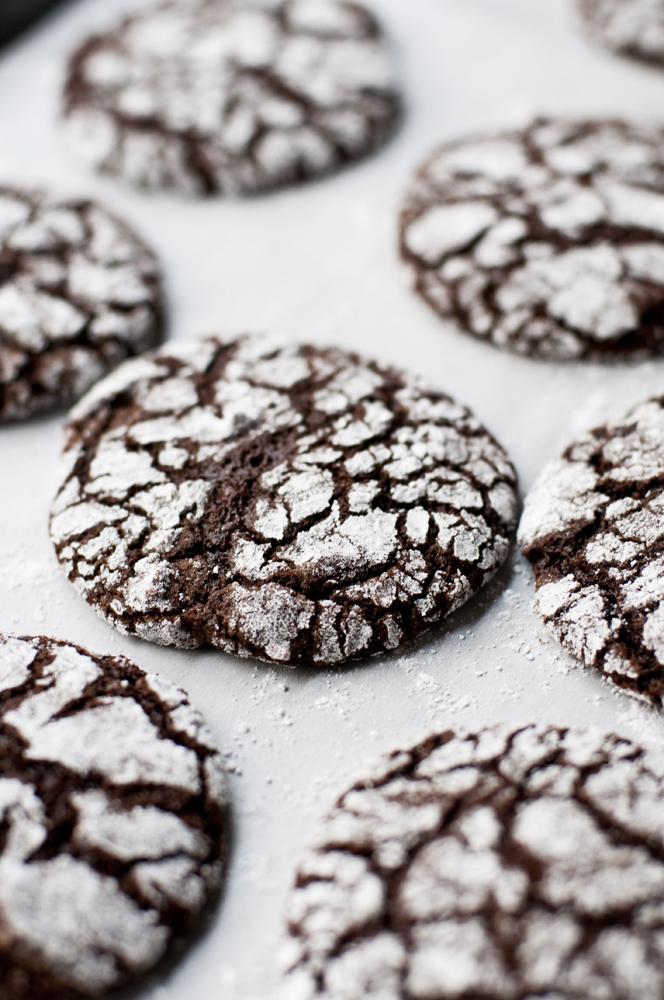 Christmas Cookies Chocolate Crinkles Hashtag Marci