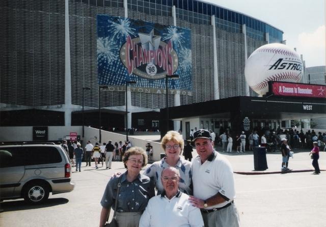 last Astrodome game