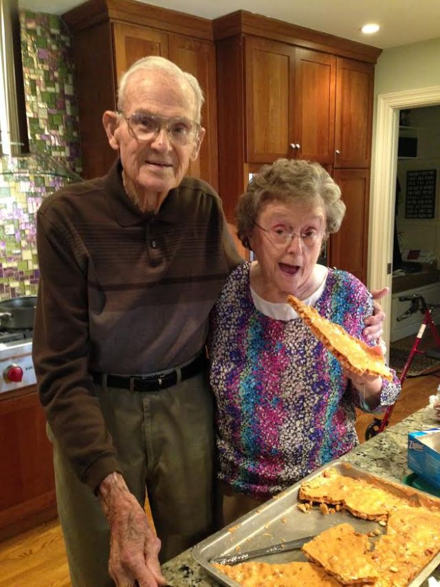 Dick and Memaw - Peanut Brittle