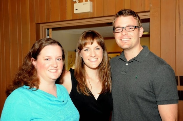 Bryan, Krista and Marci - 2010