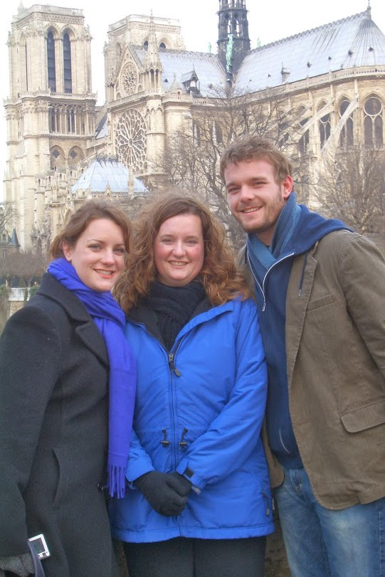 The Sibs in Paris - 2005